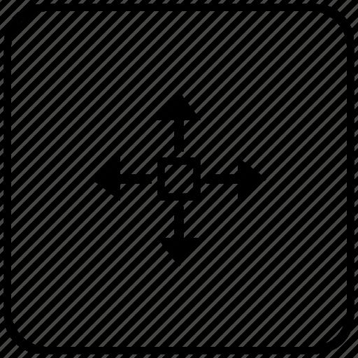 cursor, function, key, turn, window icon