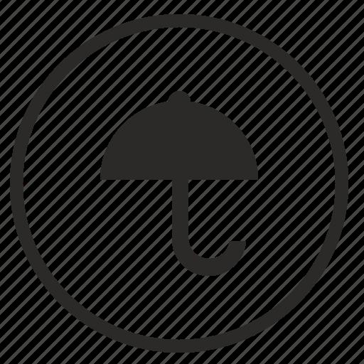 program, safety, tool, ui, umbrella icon
