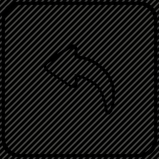 Arrow, back, function, history, key, undo icon - Download on Iconfinder