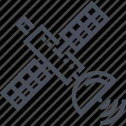 connectivity, satellite, signal, technology, wireless, wireless internet icon