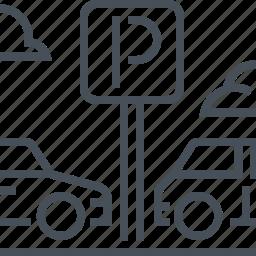 car, park, parking, parkings, transport, transportation icon