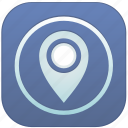 app, geo, location icon