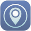 app, geo, location icon