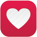 app, heart, love icon