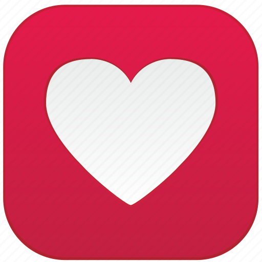 app heart love icon