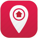 app, home, point