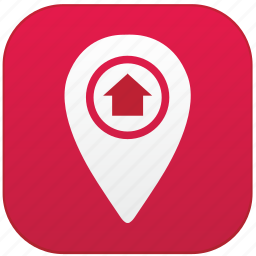 app, home, point icon