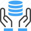 big data, storage, server, database, hand, hosting, backup