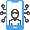 smart city, technology, device, video call, smartphone, connection, communication icon