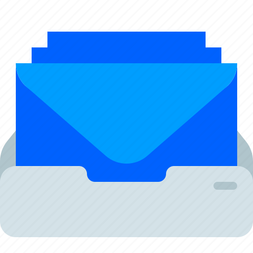 Email, envelope, inbox, mail, mailbox, office, post icon - Download on Iconfinder