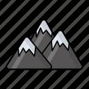 traditional, mountain, mountain ranges, summit, landmark, himalaya, mount everest