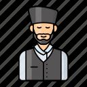 nepali, man, nationality, muslim, folk, dhaka topi