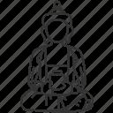 buddha, religious, buddhism, faith, statue