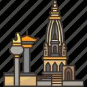 bhaktapur, heritage, temple, landmark, nepal