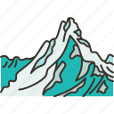 himalayas, mountain, summit, nature, landscape