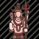 monument, shiva, statue, scrupture, hindu