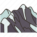 mount, everest, summit, landmark, himalaya