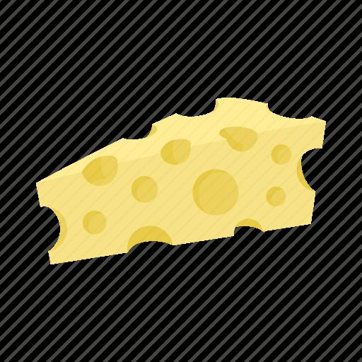 cartoon, cheese, dairy, dutch, food, holland, netherland icon