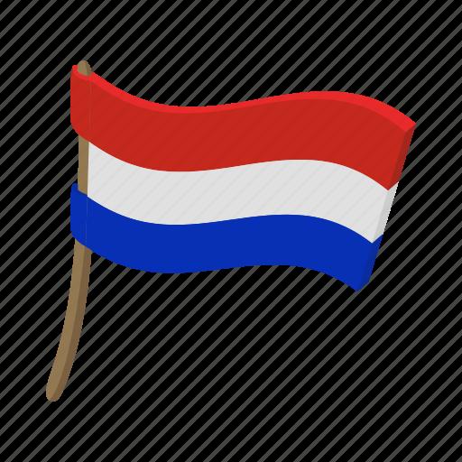 cartoon, country, flag, nation, national, netherland, patriotism icon