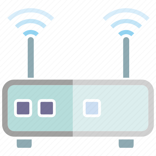 electronic, internet, router, wifi, wireless icon