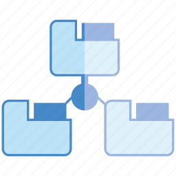 connect, file, link, share icon
