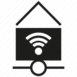 connection, home, house, internet, network, wifi, wireless icon