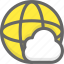 cloud internet, cloud network, internet, network icon