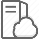 cloud hosting, cloud server, cloud vps, hosting, server, vps icon