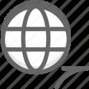 internet, network, shortcut, visit, web, website icon
