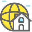 home network, internet, network icon