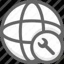 configration, network, network configration icon