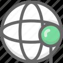 internet, location, network icon