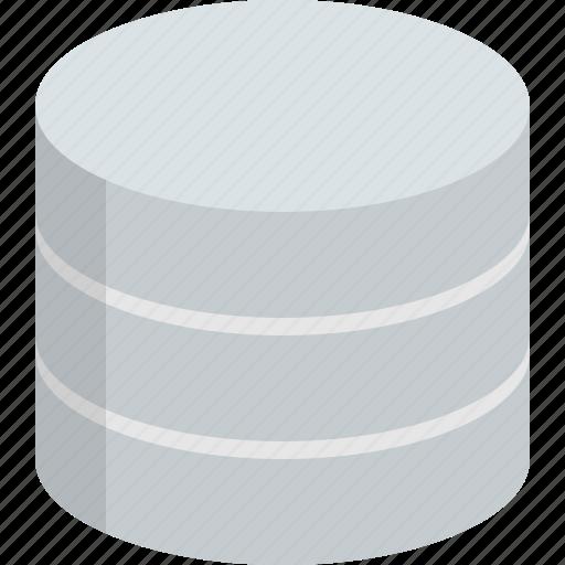 backup, data, data storage, database, disk, server, storage icon