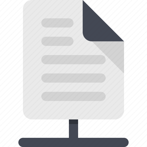 document, file, shared, shared document, shared file icon