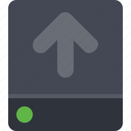data, data storage, database, disk, drive, storage, upload icon