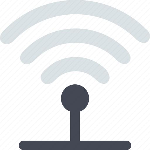 antenna, communication, connection, internet, network, signal, wifi icon