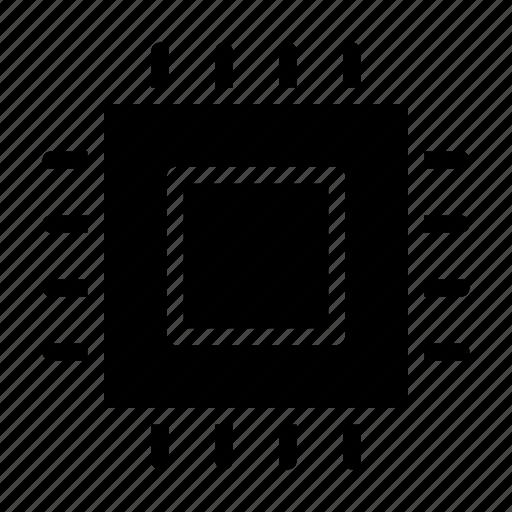 chip, computer, cpu, hardware, processor icon