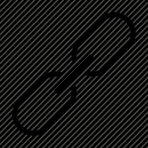 attach, chain, link, sharing, url icon