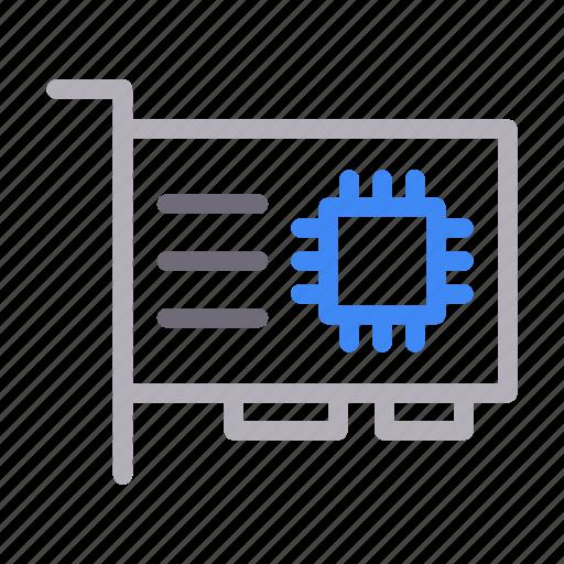 gpu, graphiccard, hardware, processor, technology icon
