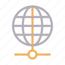 browser, connection, global, internet, network icon