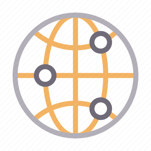 connection, global, internet, network, online icon