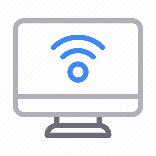connection, screen, signal, wifi, wireless icon
