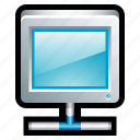 computer, lan, local, monitor, network, screen, share icon