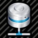 backup, database, internet, local, network, server, share icon