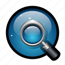 browser, find, internet, look, magnifier, search, zoom icon