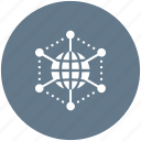 communication, connection, global, interaction icon