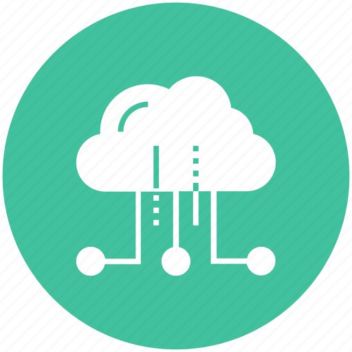 cloud, computing, hosting, internet, network, services, storage icon icon