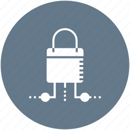 access, lock, network, padlock, protection, safe, security icon icon