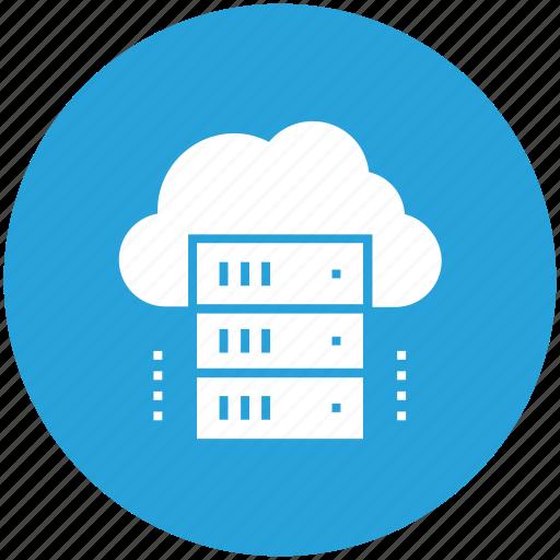 cloud, computing, data, hosting, internet, network, storage icon icon