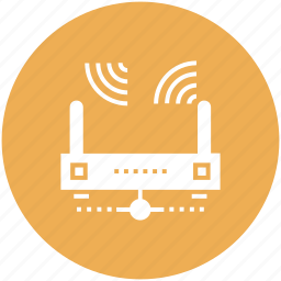 communication, internet, lan, network, router, wifi, wireless icon icon